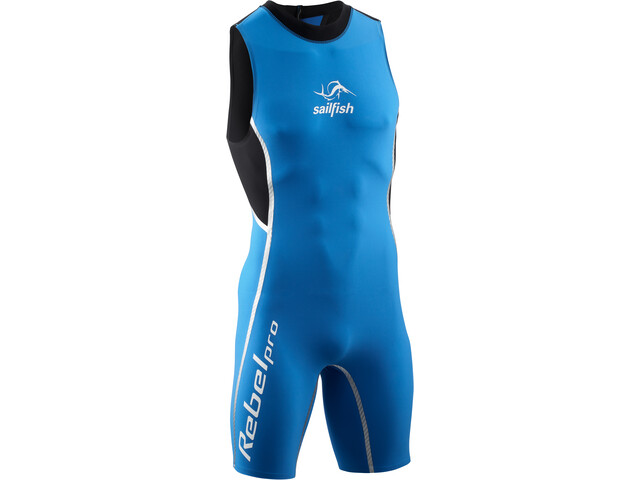sailfish Swimskin Rebel Pro Traje de Triatlón Hombre, black/blue